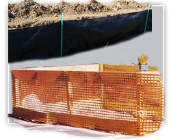 Orange Safety/Snow Fencing, Privacy & Debris Netting