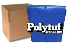 Polytuf Blue Poly Tarps - CASE LOTS