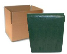 Forest Shade Green Poly Tarps - CASE LOTS