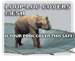 LOOP-LOC Mesh Safety Pool Covers