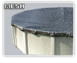 Mesh Winter Pool Covers, Above-Ground