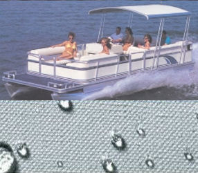 Carver Pontoon Boat Covers W Fold Down Hard Top 1 3
