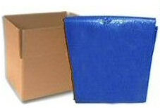 Blue Poly Tarps - CASE LOTS