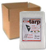 Heavy Duty White Poly Tarps - CASE LOTS